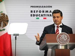 Enrique Peña Nieto, educación de calidad.
